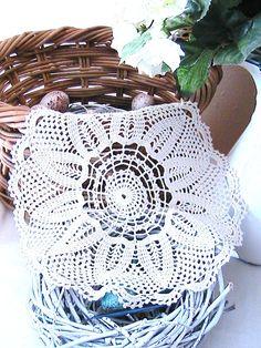 Katty's Cosy Cove Blog: Lace Crochet round mat pattern