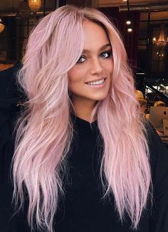 See here the hottest ideas of pink hair colors for long hair to sport in 2018. If you're looking for best styles of hair colors then we suggest you to see here for amazing trends of pink hair colors to wear right now. Nowadays, pink is one of the awesome hair colors for ladies who actually know about modern hair colors