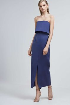 TAINTED LOVERS MAXI DRESS navy