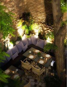 iluminacion para jardines y terrazas en murcia