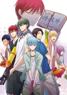 Kuroko no basket #anime whats in the box akashi?