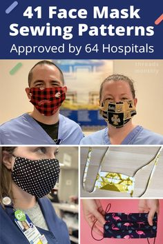 Includes: olson style and surgical or … Free printable face mask sewing patterns. Includes: olson style and surgical or …,Sewing Free printable face mask sewing patterns. Easy Face Masks, Homemade Face Masks, Diy Face Mask, Sewing Patterns Free, Sewing Tutorials, Free Pattern, Sewing Projects, Pattern Sewing, Free Sewing