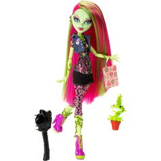 Monster High Venus McFlyTrap Doll, Halloween costume