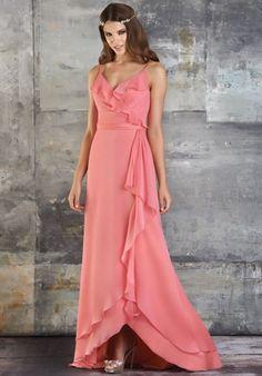 302b0d7a51 RK Bridal - Bari Jay Bridesmaids Spring 2013 - Style 667 Iridescent  Chiffon