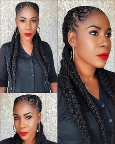 Holiday Loc Hairstyle Inspiration: Christmas - New Site Dreadlock Styles, Dreads Styles, Curly Hair Styles, Natural Hair Styles, Braid Styles, Dreadlock Hairstyles, Braided Hairstyles, Cool Hairstyles, Wedding Hairstyles