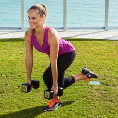 Flat Abs Exercise: Single-Leg Squats - The Best Leg Exercises and Arm Exercises for Flat Abs - Shape Magazine