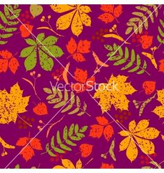 Abstract seamless floral pattern colorful vector by ColorValley on VectorStock®