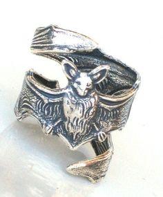 Steampunk Bat Ring