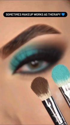 Eye Makeup Steps, Makeup Eye Looks, Eye Makeup Art, Eyebrow Makeup, Makeup Geek Eyeshadow, Makeup Tutorial Eyeliner, Smokey Eye Makeup, Creative Eye Makeup, Colorful Eye Makeup