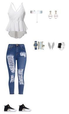 """Untitled #151"" by selise-miles on Polyvore featuring Mixit, Accessorize and Apple"