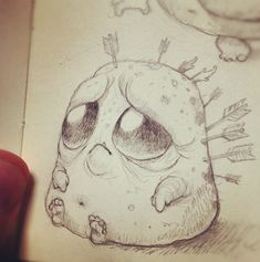 CHRIS RYNIAK, monsters #chrisryniak