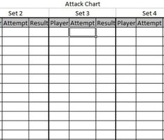 Printable's for volleyball pre-game, match, and post-match ...