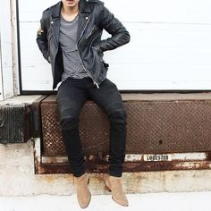 #BalmainJacket and #YsL Chelsea boots by @m9chael [ http://ift.tt/1f8LY65 ] #royalfashionist by royalfashionist