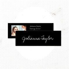 Elegant black white script minimal makeup artist mini business card makeup,You can find Black makeup artist and more on our websit. Black Makeup Artist, Minimal Makeup, Makeup Yourself, Script, Black And White, Elegant, Business, Cards, Classy