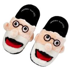 £25.95 - Freudian Slippers. Keep comfy with these quirky 'Freudian Slip' slippers. Their soles are cushioned and the grips come specially moulded with a non-slip rubber. Their slip-on design will fit snugly onto any foot. #Freud