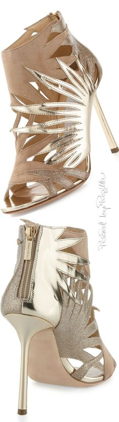 Regilla ⚜ Jimmy Choo❤︎....Perfect for spring.....How to make high heels comfortable - you tube at www.youtube.com/... ...also see hopscotch in heels!!...