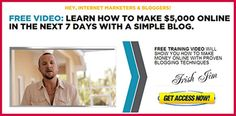 Make $5,000 a month by blogging, watch this FREE video from David Sharp to learn how http://socialmediabar.com/leakedsecret-1