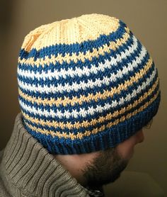 Ravelry: When the sun goes down hat pattern by Anna Rauf