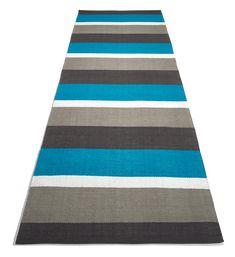Kuvahaun tulos haulle turkoosi räsymatto Beach Mat, Outdoor Blanket, Weaving, Contemporary, Rugs, Home Decor, Farmhouse Rugs, Decoration Home, Room Decor