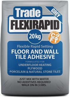 Tile Master Trade Flex Flexible Floor Adhesive