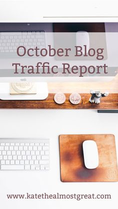 Looking at my blog traffic from October, what I did to increase it, whether or not it worked, and more.