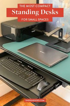 looking to create a small office space that you can work from home in and be productive? try an adjustable electric stand desk where you can sit stand and incorporate movement into a long work day. best standing desk, sit stand desk, bdi office furniture, work from home office essentials, standing desk for small space, best standing desk for apartment #standingdesk #amazonhome #homeoffice #workfromhomeoffice Desks For Small Spaces, Small Space Office, Best Standing Desk, Amazon Home Decor, Sit Stand Desk, Shopping Places, Office Essentials, Office Furniture, Home Office