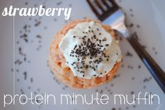 Minute Muffin with protein powder