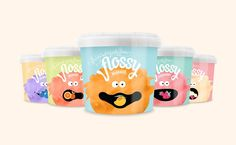 FLOSSY - Flavoured Candy Floss on Packaging of the World - Creative Package Design Gallery