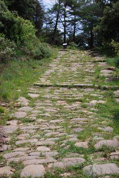 La Via Romana de Sant Pau de Seguries, al Ripollès, a la Vall de Bianya, a la Garrotxa (Catalunya - Catalonia)