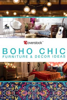 Find Boho Chic decorating ideas for your home. Shop our huge selection of Boho Chic furniture and decor at Overstock.com; Free shipping.*