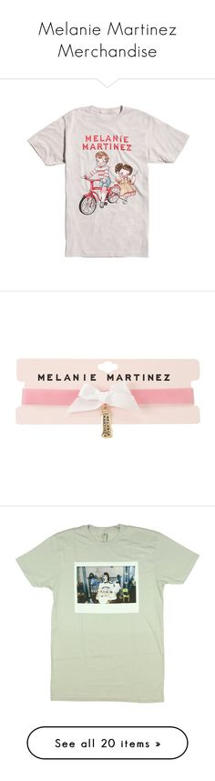 """""""Melanie Martinez Merchandise"""" by crybabying ❤ liked on Polyvore featuring jewelry, necklaces, choker, hot topic, melanie martinez, pink, velvet jewelry, charm necklaces, white jewelry and bow jewelry"""