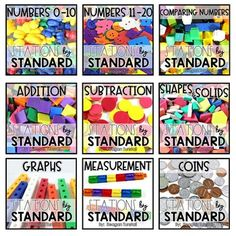 This growing bundle has so many great stations for kindergarten math- I can't wait to use them in my classroom!