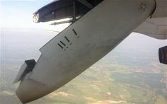 Plane grounded after part of wing falls off mid-flight.