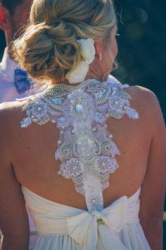Anna Campbell Gladiator - XXS Size 8 Pre-Owned Wedding Dress   Still White