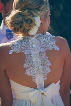 Anna Campbell Gladiator - XXS Size 8 Pre-Owned Wedding Dress | Still White