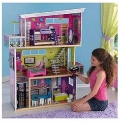 The BEST Barbie dream house may not be the plastic one that Mattel makes.    Don't get me wrong, I love Barbie brand stuff! I prefer the brand name...