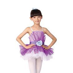 dacewear rendimiento spandex sin mangas dresse ballet para niños más colores – USD $ 39.99