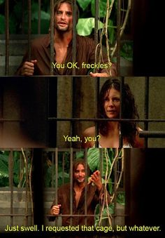 "Pretty much anytime he called Kate ""freckles"": 