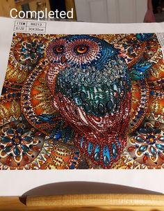 Owl diamond painting Owl, Tapestry, Cool Stuff, Diamond, Artwork, Painting, Home Decor, Hanging Tapestry, Work Of Art