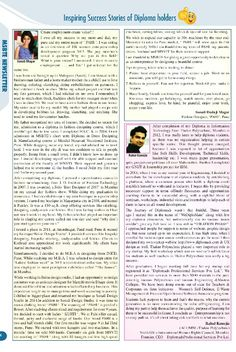 Success story in maharashtra state board of technical education, mumbai