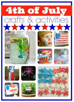 10 Fourth of July Crafts & Activities
