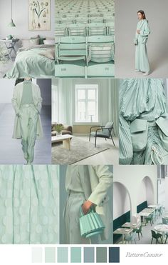 MINT CONDITION by Pattern Curator Service Design, Color Inspiration, Color Trends, Print Patterns, Print Design, Conditioner, Mint, Collage, Fashion Trends