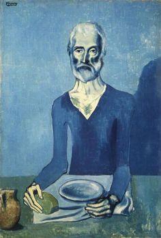 Ascetic - Pablo Picasso, 1903