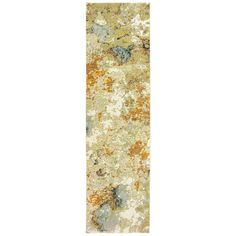 Evolution Gold Beige Abstract Abstract Contemporary Rug