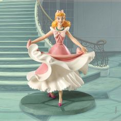"""WDCC Cinderella """"Isn't it Lovely? Do you like it?"""" Figurine"""