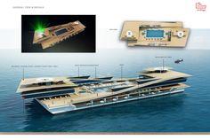 130m Uldas luxury yacht concept