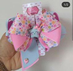 Diy Hair Bows, Bow Hair Clips, Cute Crafts, Diy Crafts, Girls Bows, Ribbon Bows, Baby Headbands, Diy Hairstyles, Diy For Kids