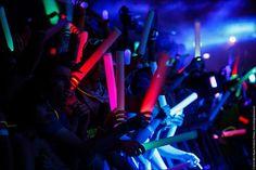 LED Foam Glow Sticks! - https://glowproducts.com/us/led-foam-light-sticks-multi-color