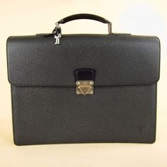 Louis Vuitton Leather Briefcase $1895  www.boutiika.com