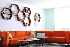 Whatever They Told You About Highly Functional Floating Shelf for Living Room Is Dead Wrong…And Here's Why Since the room is visible from many areas of the home, it's the obvious location for Ike to play. Your living room is… Continue Reading → Living Room Decor On A Budget, Small Living Rooms, Honeycomb Shelves, Sofa Deals, Dining Room Storage, Best Leather Sofa, Floating Wall Shelves, Furniture Layout, Diy On A Budget